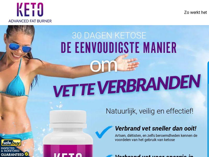 Keto Advanced Fat Burner LP01 (Dutch)