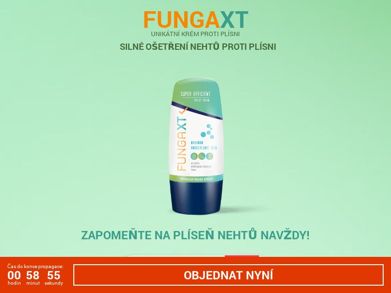 FungaXT CZ - antifungal solution