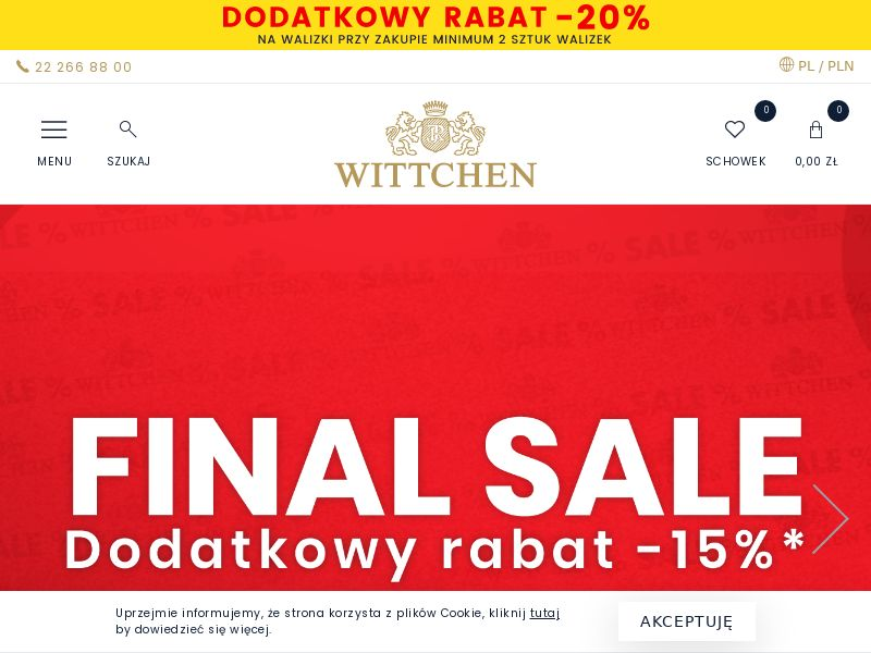 Wittchen - PL (PL), [CPS], Fashion, Clothes, Shoes, Accessories and additions, Accessories, Jewelry, Presents, Sell, shop, gift