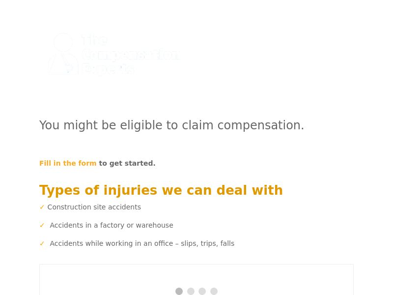 Personal Injury - Short form - CPL - UK [NATIVE ONLY]