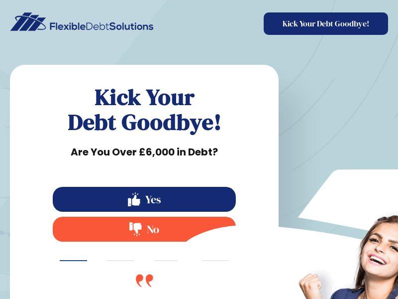 UK - Flexible Debt Solutions Long Form Lander - D3 (New)