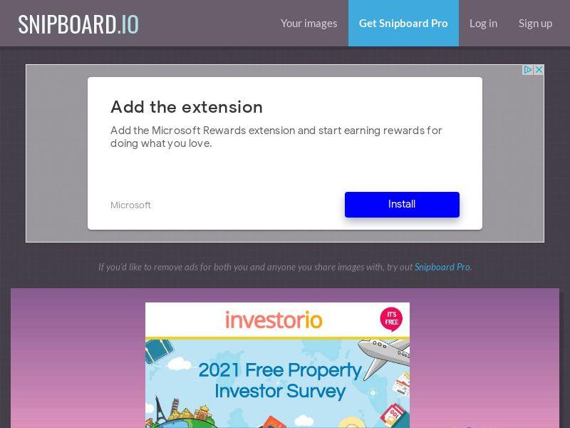 41118 - UK - Property Investor Survey - SOI - UK - CPL [No Incent]