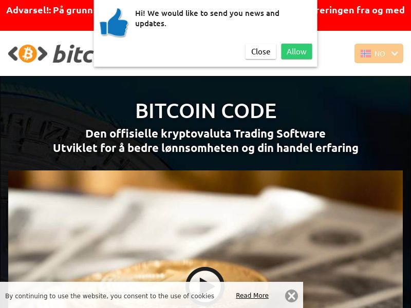 Bitcoin Code Norwegian 3128