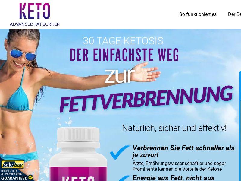 Keto Advanced Fat Burner (CPS) - DE