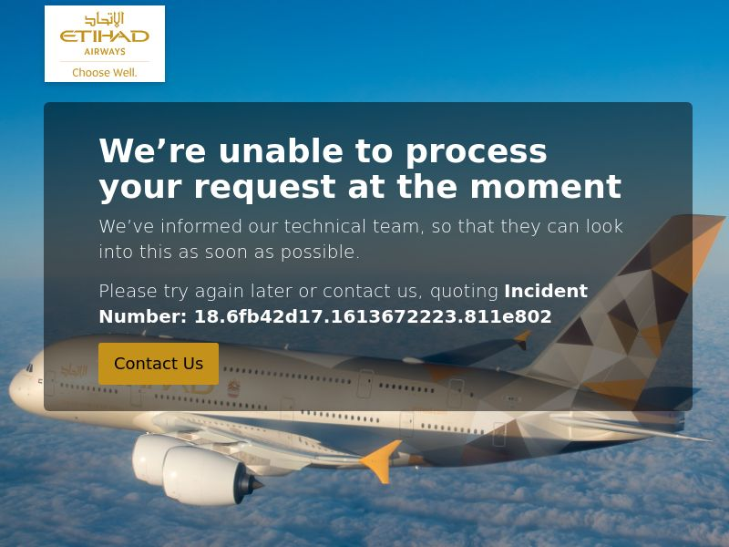 10896) [WEB+WAP] Etihad Airways - WW - CPA