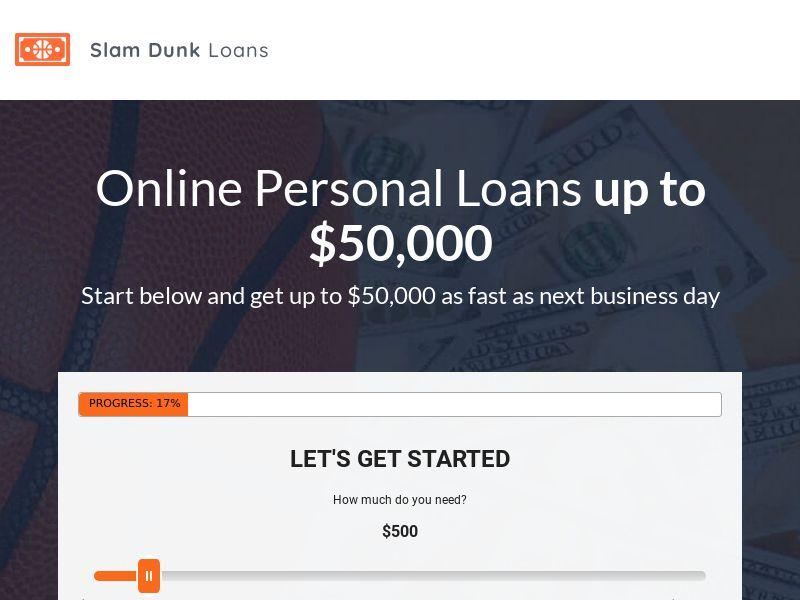 Slam Dunk Loans - RevShare
