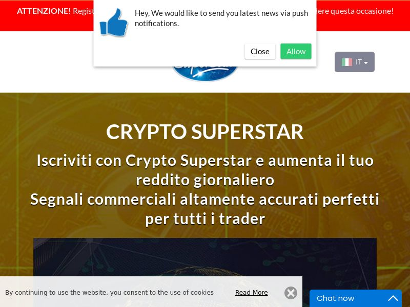Crypto Superstar Italian 2089