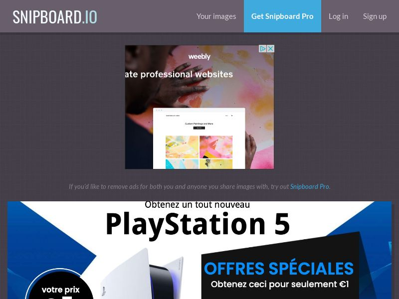 SteadyBusiness - Playstation 5 PS5 (white) LP54 FR - CC Submit