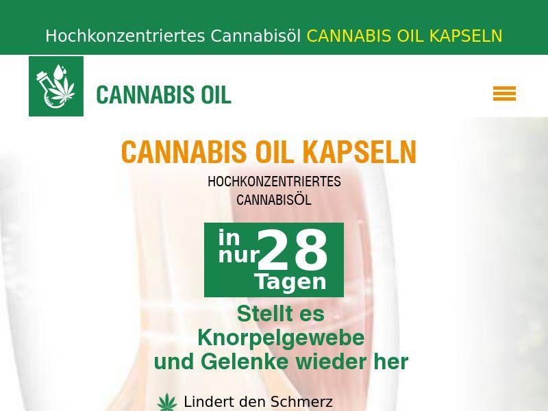 Cannabis Oil DE(joints)