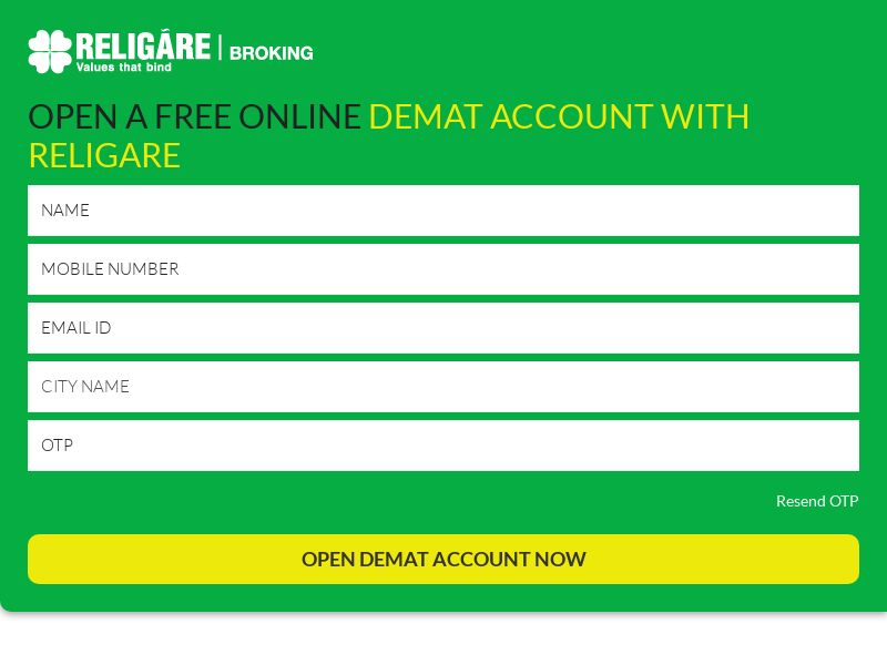 Religareonline.com Demat CPL - India