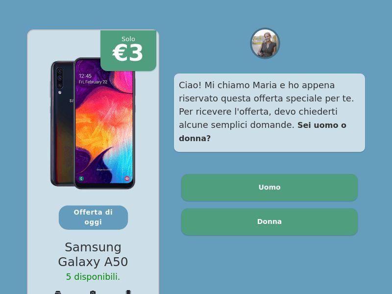 Step-by-step FUNNEL: Samsung Galaxy A50 - IT