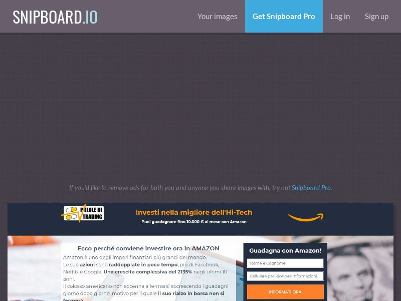41654 - IT - Amazon - IT - CPL