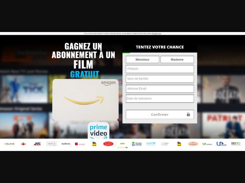 Amazon Prime Voucher - INCENT - FR