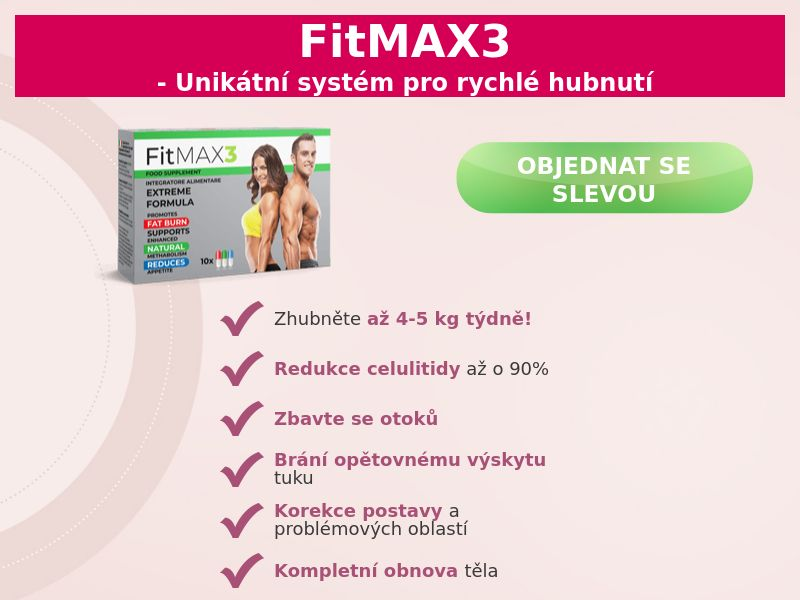 FitMAX3 - COD - [CZ]