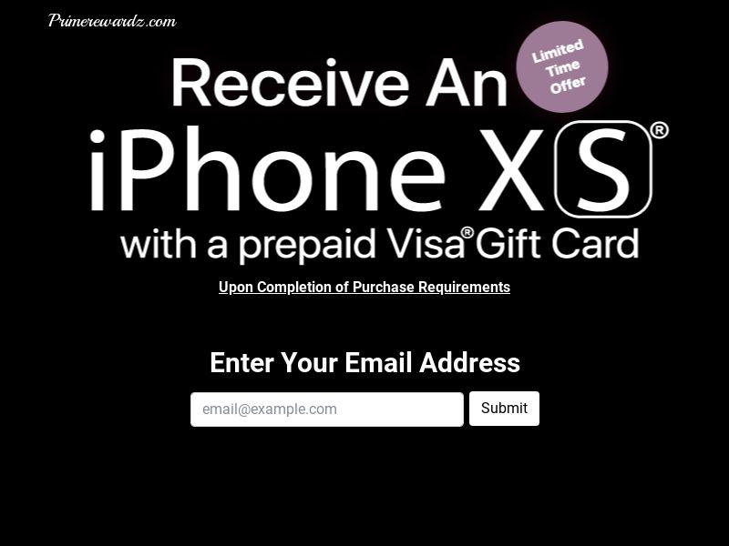 PrimeRewardz - iPhone XS