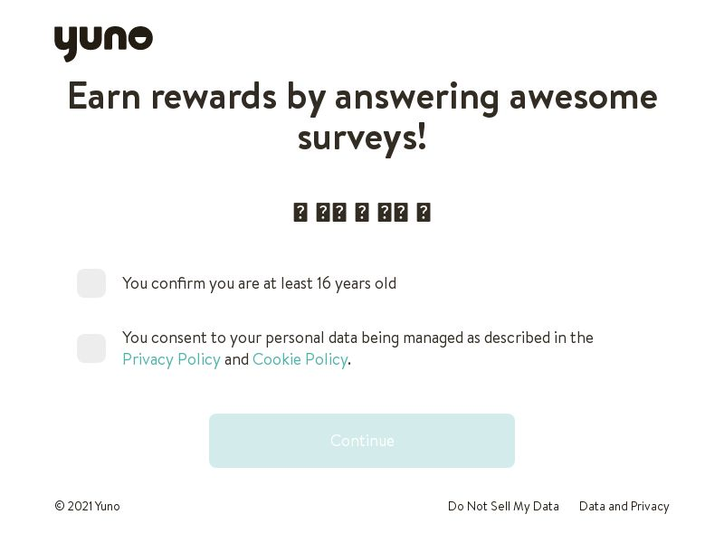 Yuno Survey - INCENT - KR