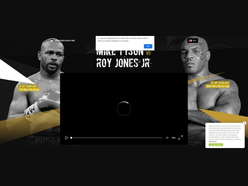 Tyson vs Roy Jones Jr [DE] - CC Submit