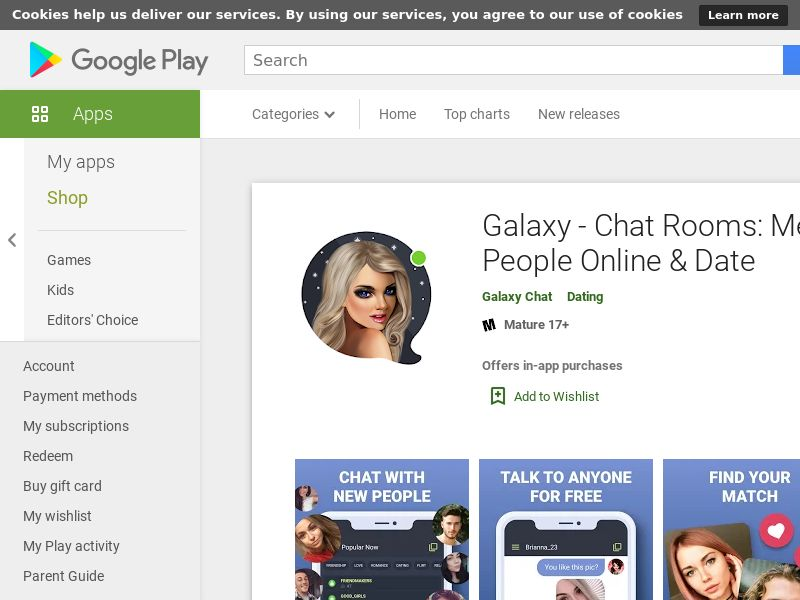 Galaxy Chat & Play - RU - Android (CPR)