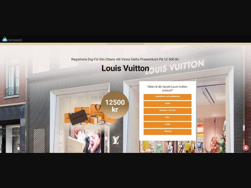 SE - Win Louis Vuitton Gift Card [SE] - SOI registration