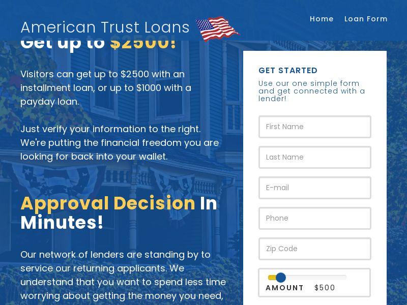 American Trust Loans