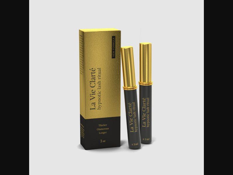 LA VIE CLARTE NEW FORMULA – IT – CPA – beauty – eyelashes serum - COD / SS - new creative available