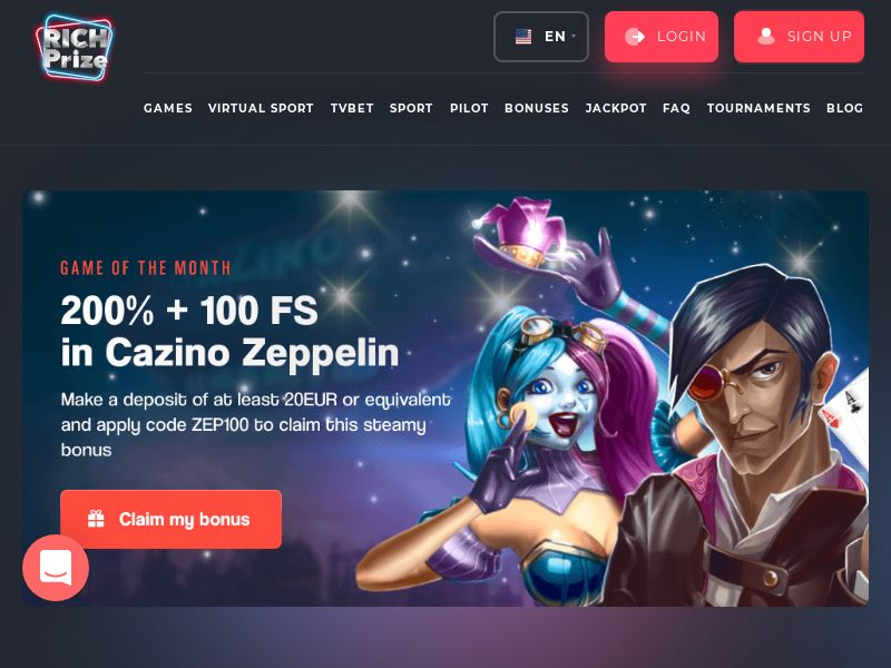 RichPrize Casino Main - GB