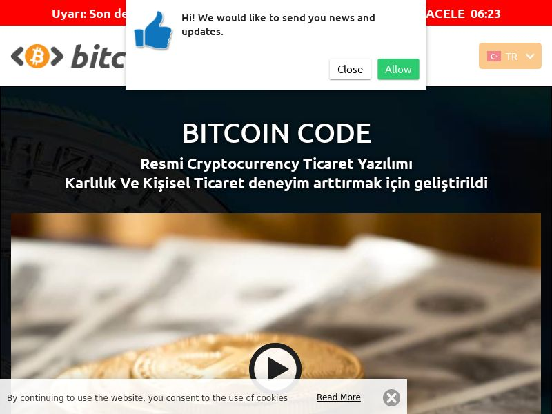 Bitcoin Code Turkish 3123