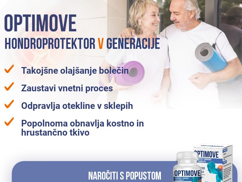 Optimove SI - arthritis product - arthritis product