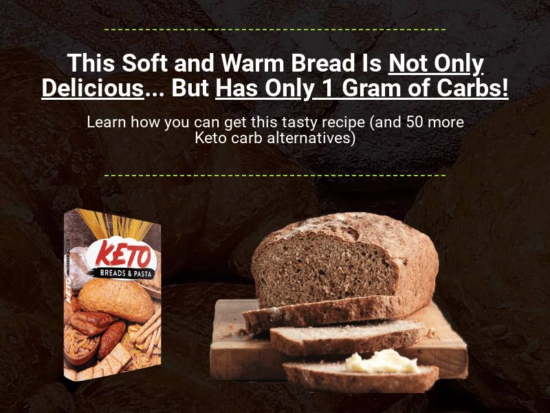 Keto Breads and Pasta (US, CA, AU & NZ)