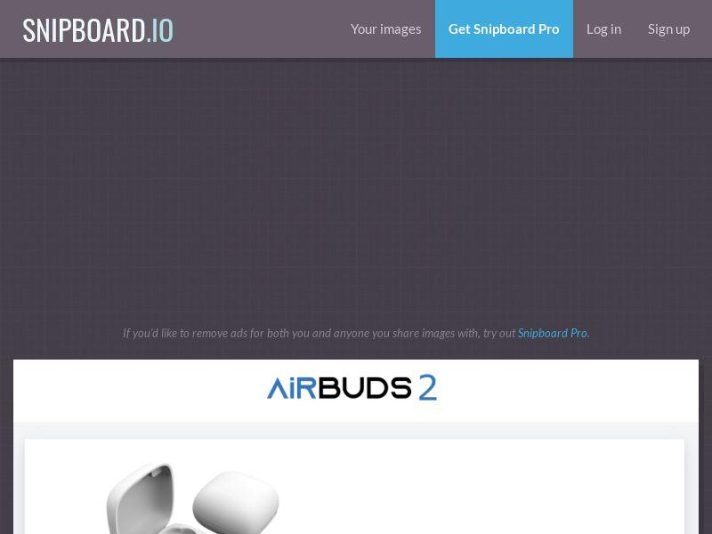 42722 - US - AU - CA - UK - IE - ECOMMERCE - Airbuds 2 - EN - [order page]