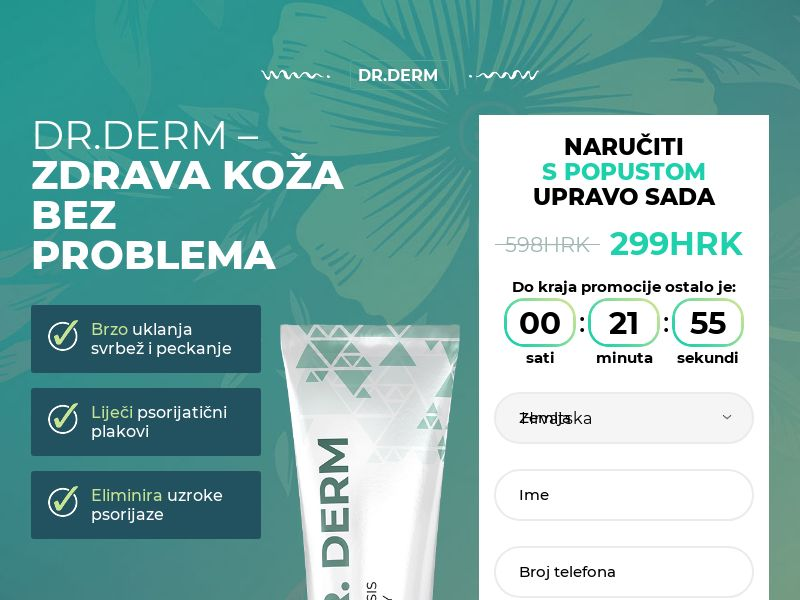 Dr.Derm HR - anti-psoriasis product