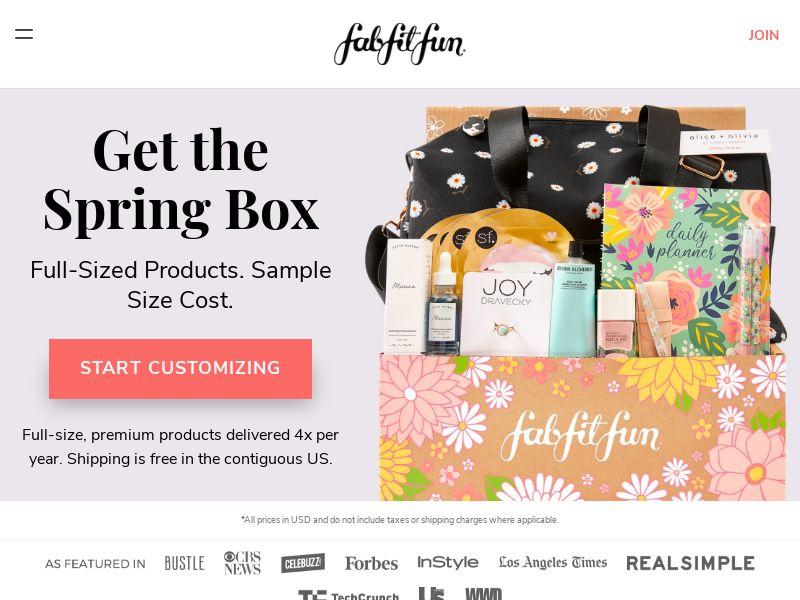 FabFitFun - Beauty Subscription Box - CPA - [US/CA]