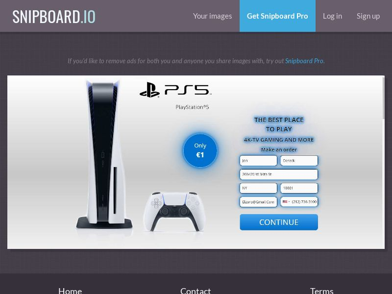 39691 - US - OrangeViral - Win a PS5 - Only US - CC submit