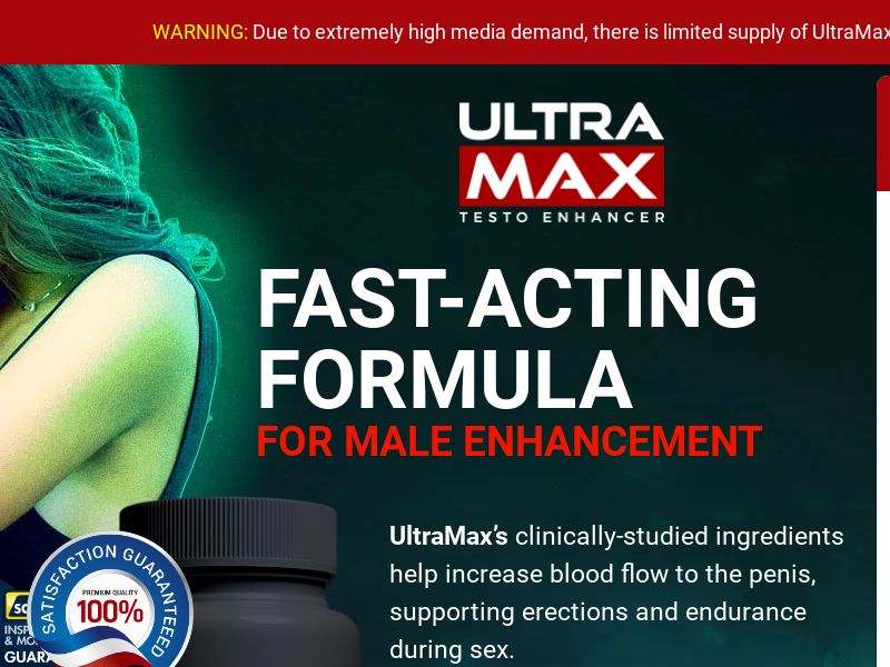 UltraMax Testo Enhancer LP01 (EN INTL)