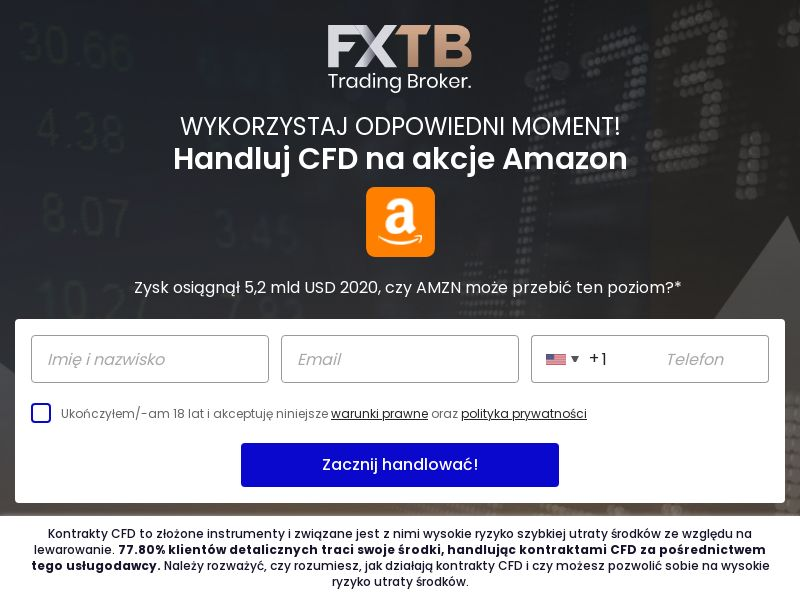 FXTB - Amazon (PL), [CPA], Business, Investment platforms, Financial instruments, Deposit Payment, bitcoin, cryptocurrency, finance, money