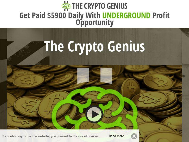Crypto Genius CPA IT, NL, SE, PT, ES, ZA, TH, MY, VT, DE, AT, DK, FI, CH