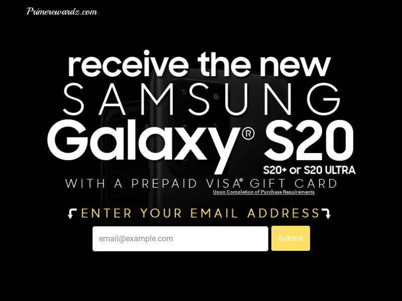 Primerewardz - Galaxy S20
