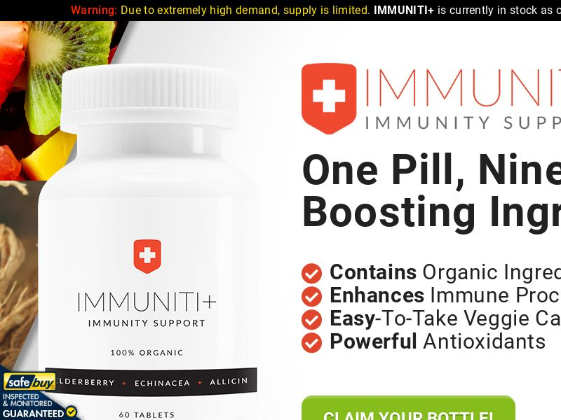 Immuniti+ SS - UK/NZ/AU/IE/IL/IS/ZA/IN/TH/PH/SG/MY/HK/TW/JP/UAE/ID (ENGLISH)