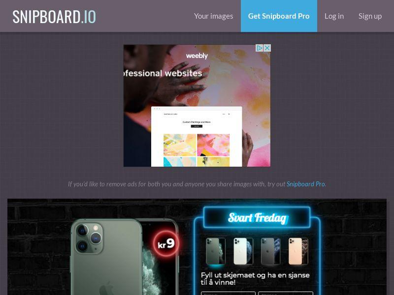 BigEntry - Black Friday iPhone 11 Pro v1 NO - CC Submit