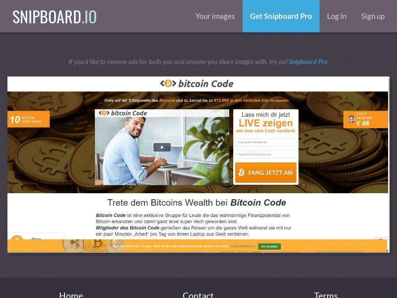 39675 - DE - AT - CH - Crypto - Bitcoin Code (AT, CH, DE) - FTD (min $250)