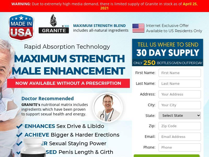 Granite Men's Health (PPS) - Male Enhancement - US