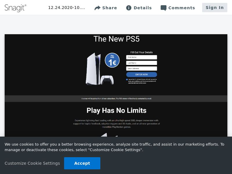 uWin Playstation 5 | CA