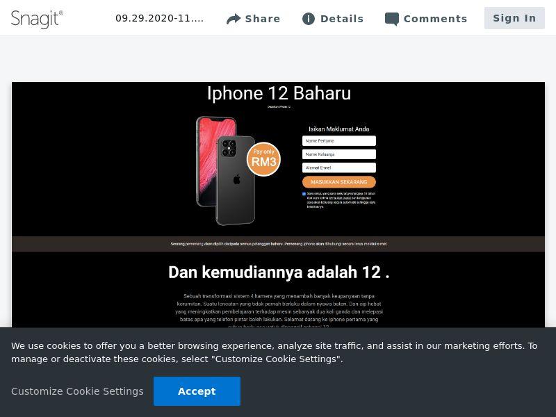 uWin iPhone 12 | MY
