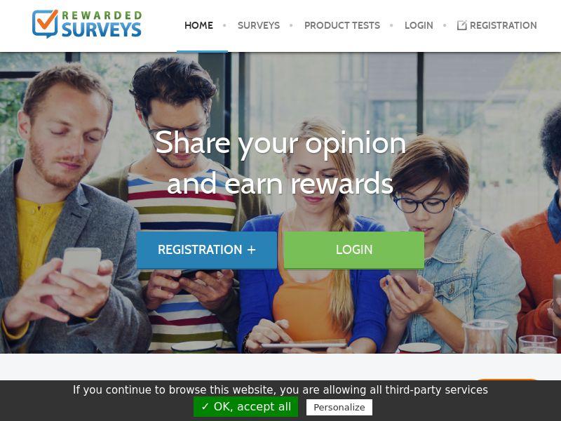 UK - Rewarded Surveys