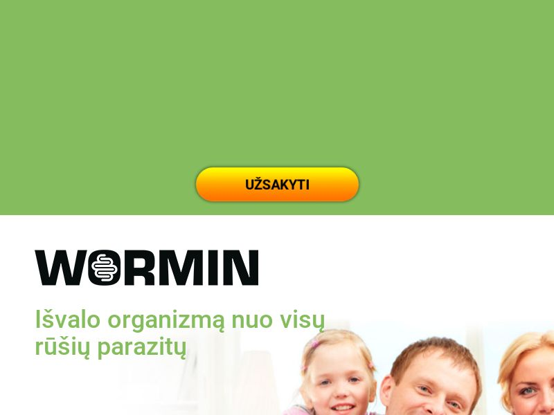 Wormin LT - anti-parasite product