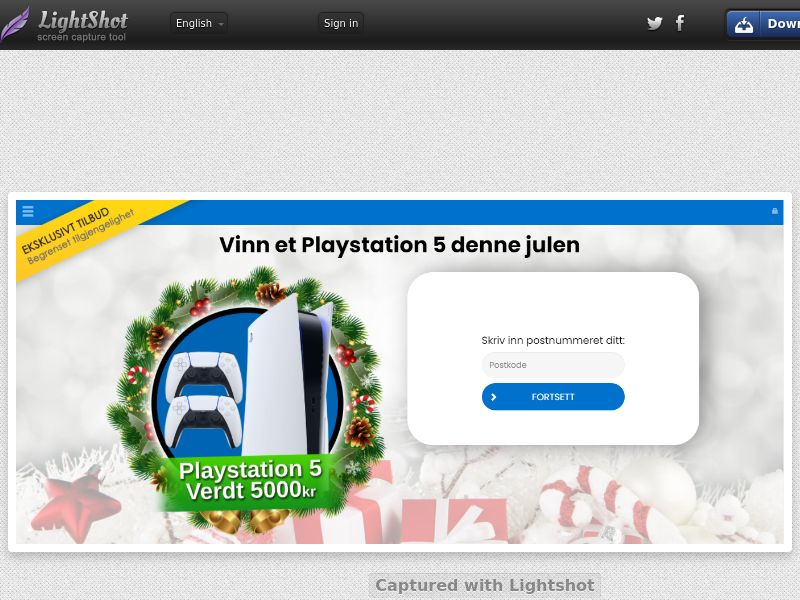 ConsumersConnect - Win Playstation 5 Christmas (SE) (CPL) (Personal Approval)