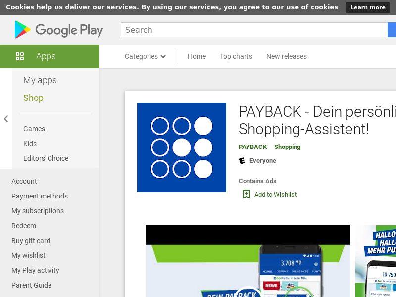 [DE] PAYBACK - Android GAID (HARD KPI)