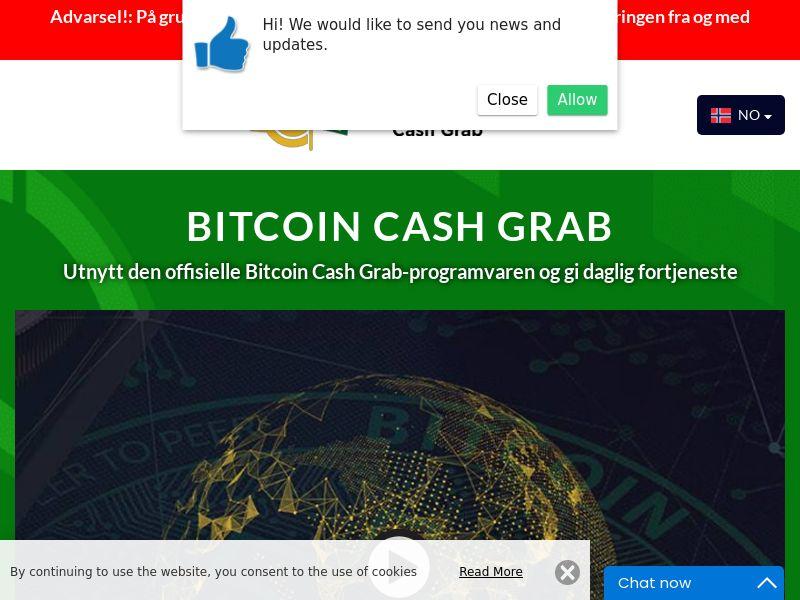 Bitcoin Cash Grab Norwegian 1893