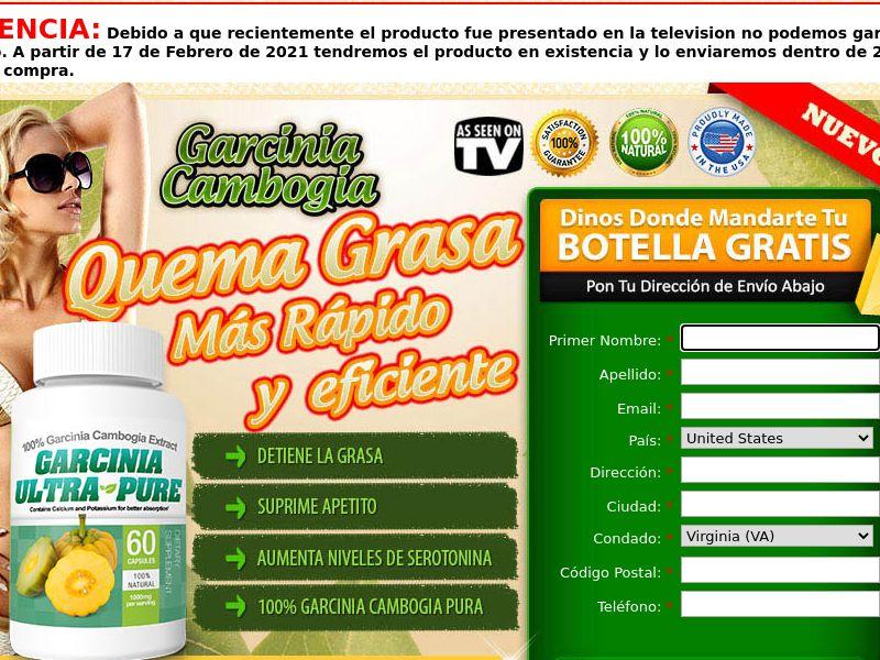 Garcinia Ultra Pure CPA Global Spanish