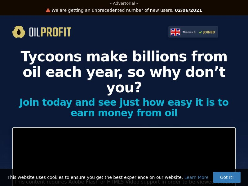 Oil Profit (MY) (CPS)